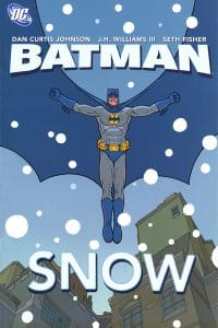 Batman Snow Cover