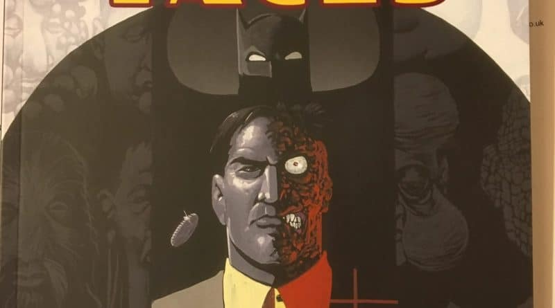 Batman Faces Cover