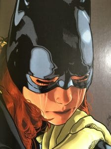 Batgirl Crying