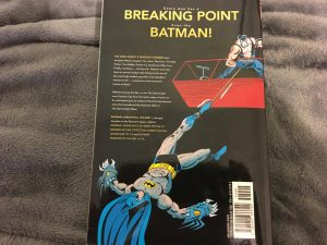 Batman Knightfall Volume 1 Back