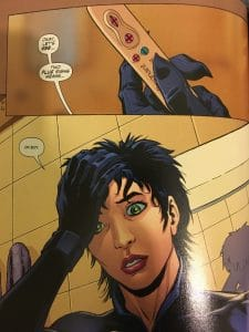 Selina Kyle Pregnancy Test