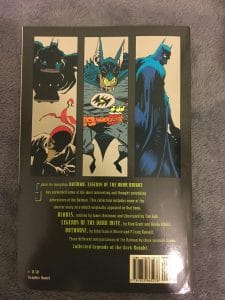 Collected Legends of the Dark Knight Back