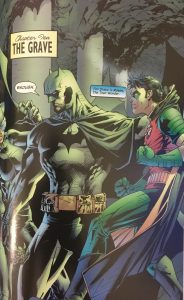 Batman Catwoman and Robin in Hush