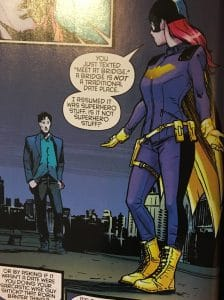 Batgirl and Nightwing Rebirth