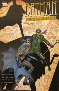Batman King Tuts Tomb Cover