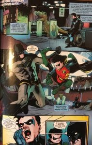 Batman Trains Damian