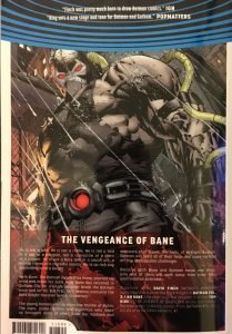 Batman Volume 3 I am Bane Rear