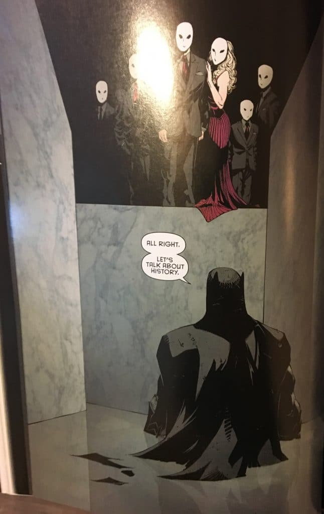 Batman Asks The Owls A Favour