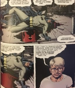 Batman Bleeding An Innocent Guy