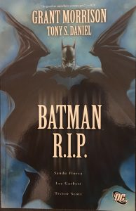Batman R.I.P. Cover