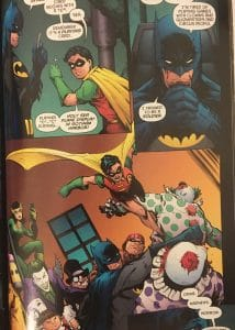 Batman, Robin and Rogue's Gallery R.I.P.