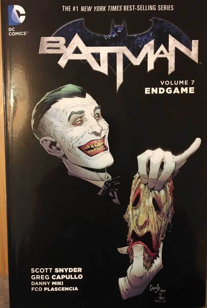 Batman Volume 7 Endgame Cover