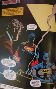 Batman and Superman Death in the Family