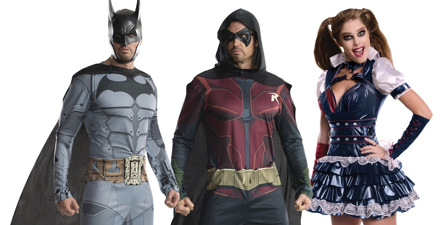 Dress up as your favourite DC characters this Halloween
