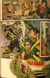 Robin vs Killer Croc