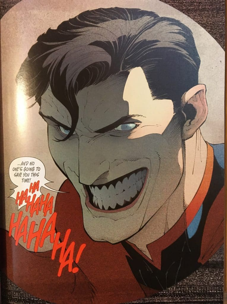 Superman Joker Toxin