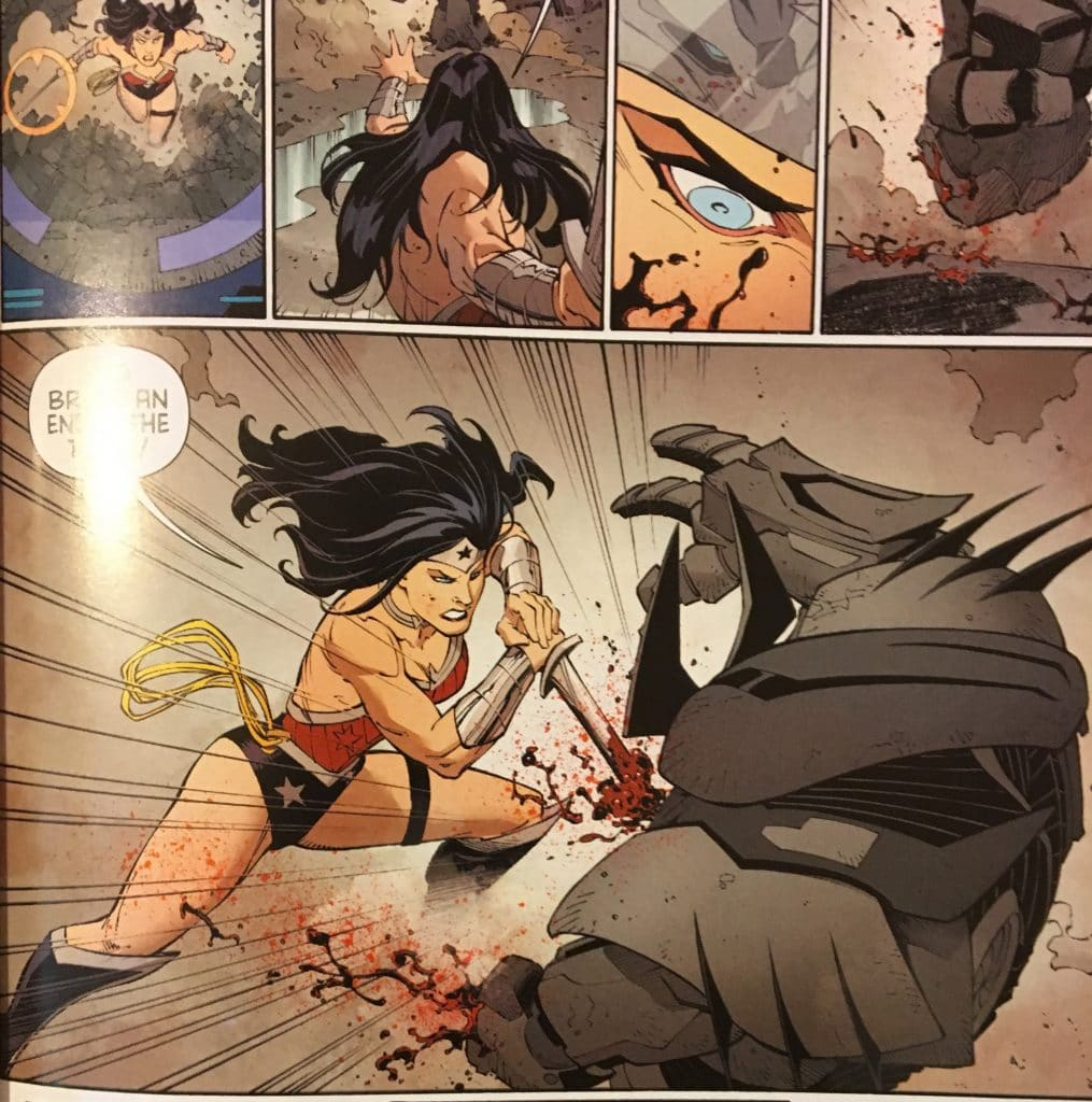 Wonder Woman vs Batman Endgame