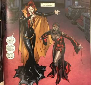 Batgirl and Strix as Vampires