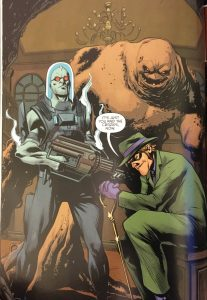 Freeze, Clayface and Riddler