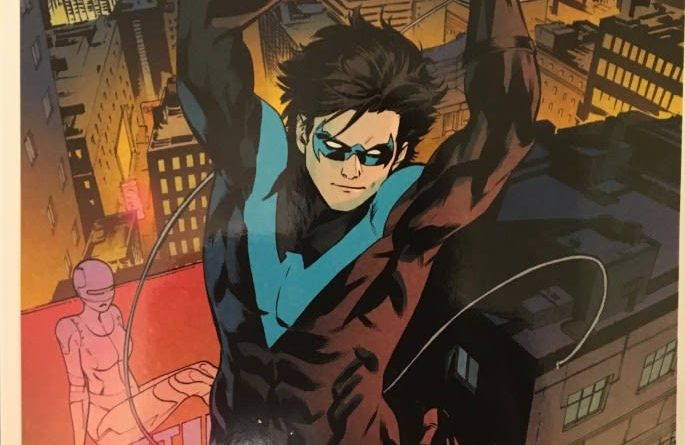 Nightwing Back to Bludhaven Rear