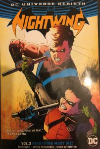 Nightwing Volume 3 Nightwing Must Die Cover