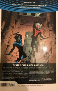 Nightwing Volume 3 Nightwing Must Die Rear