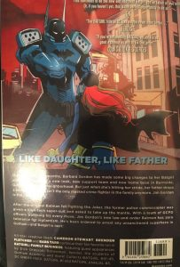 Batgirl Volume 2 Family Business Rear