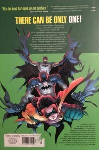 Batman & Robin Batman Must Die Rear