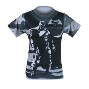 Batman VS Superman Contrast Shirt